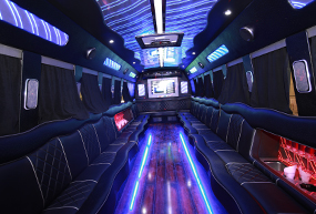 Party Bus Rental Westland MI - Limo Rentals, Special Event Transportation - Royal Limousine - partybus